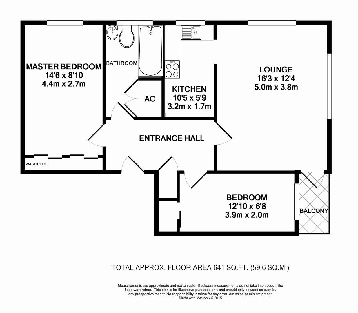 Floorplan for Cotswold Court, Horsham